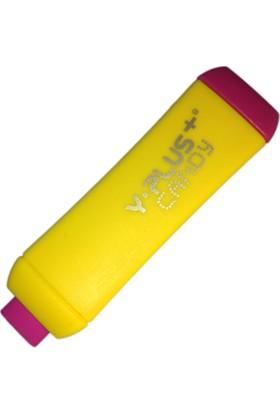 Y-Plus Candy Ayarlı Silgi Sarı Pembe