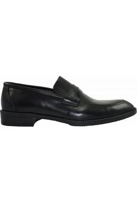 Tutum 163 Düz Hakiki Deri Erkek Ayakkabı Siyah