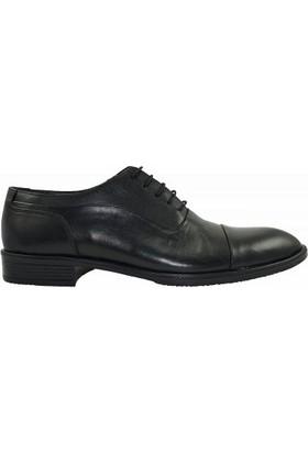 Tutum 5076 Hakiki Deri Erkek Ayakkabı Siyah