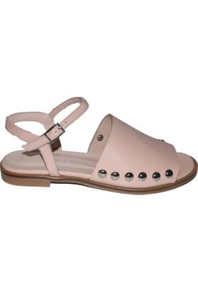 Efem 237 Deri Kadın Sandalet