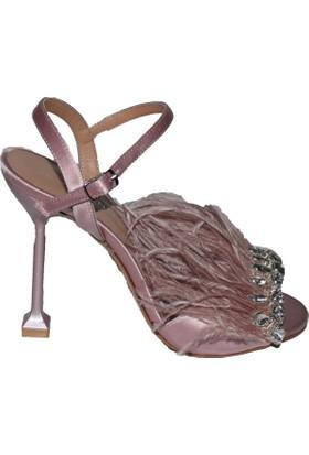 Efem 87-07 Deri Tüylü Kadın Ayakkabı