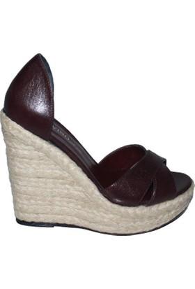 Efem 809-53 Deri Kadın Ayakkabı