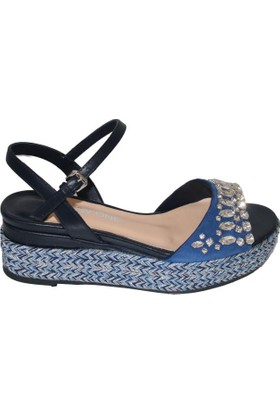 Efem 4652-33 Deri Kadın Sandalet