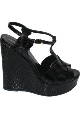 Efem 809-02 Rugan Deri Kadın Ayakkabı