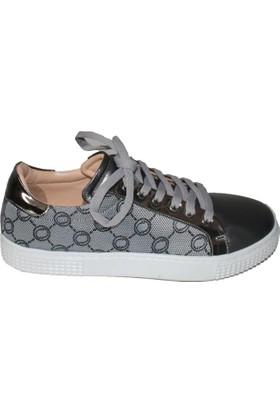Efem 874-01 Deri Spor Kadın Ayakkabı