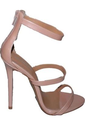 Efem 4143-07 Rugan Deri Kadın Ayakkabı