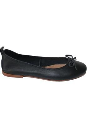 Efem 001 Deri Babet Kadın Ayakkabı