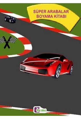 Süper Arabalar Boyama Kitabı