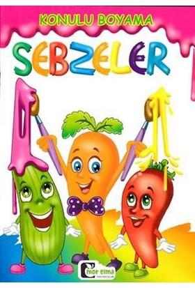 Konulu Boyama :Sebzeler