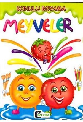 Konulu Boyama: Meyveler