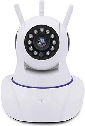Veezu 960P Hd 360° Wifi Bebek Bakıcı Güvenlik Kamerası