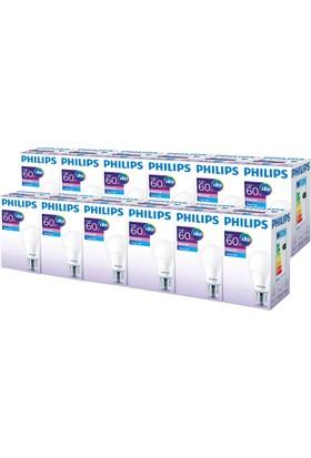Philips ESS LEDBulb 8.5-60W Normal Duy Beyaz Işık 12'li Ekopaket
