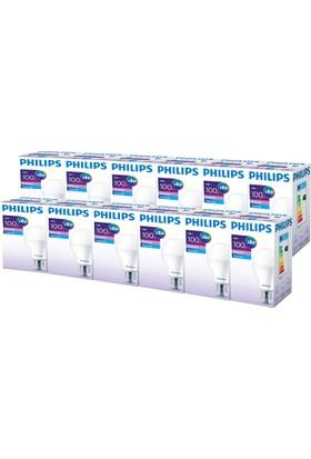 Philips ESS LEDBulb 14-100W Normal Duy Beyaz Işık 12'li Ekopaket