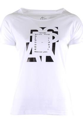 Tryon Evora Bisiklet Yaka T-Shirt Beyaz
