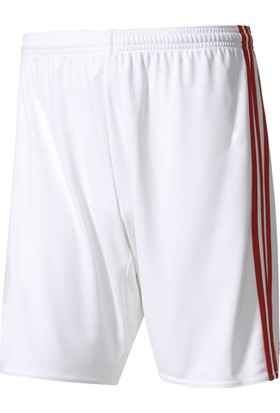 Adidas AN8175 Essential Climacool Şort Beyaz Kırmızı