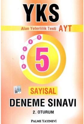 Palme Yks Ayt Sayısal 5 Deneme Sınavı 2. Oturum