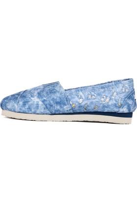 U.S. Polo Assn. Kız Çocuk Y7Cerelia Ayakkabı Mavi