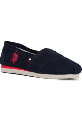 U.S. Polo Assn. Kız Çocuk Y7Dapne Ayakkabı Lacivert