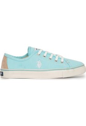 U.S. Polo Assn. Kadın Kaley-Int Sneaker Ayakkabı Mavi