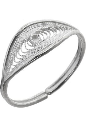 Misiny Adya Gümüş Telkari Yüzük