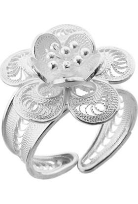 Misiny Firuz Gümüş Telkari Yüzük