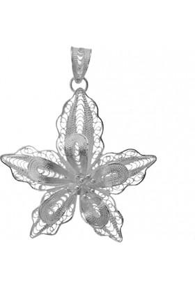 Misiny Zambak Gümüş Telkari Seti