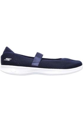 Skechers 14482-Nvw Go Step Lite Blooming Kadın Spor Ayakkabı