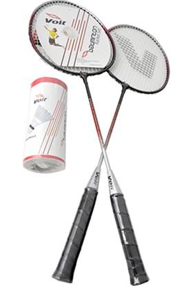 Voit 2 Raket 3 Top Badminton