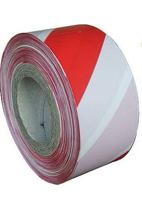 İkaz Emniyet Şeridi / Kırmızı-Beyaz 200 Metre.