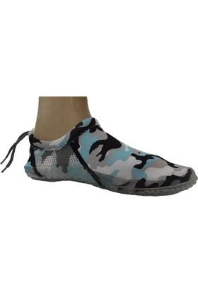 Hobi Store Kamuflaj Deniz Ayakkabısı