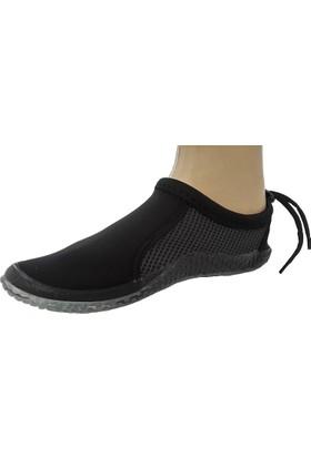 Hobi Store Siyah Fileli Deniz Ayakkabısı