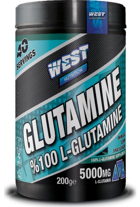 West Nutrition LGlutamine Glutamin 200 gr