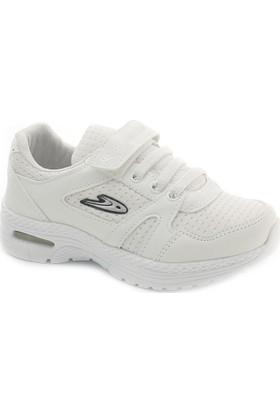 Hammer T3265 Beyaz Işıklı Çocuk Spor Ayakkabı