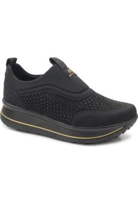 Swift 2500 Taşlı Kalın Taban Günlük Spor Ayakkabı