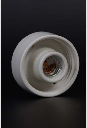 Kale Porselen E27 Duy,Tavan Glop Porselen