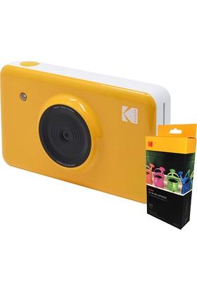 Kodak Mini Shot - 30 Adet Baskı Kağıdı + Anında Baskı Dijital Fotoğraf Makinesi