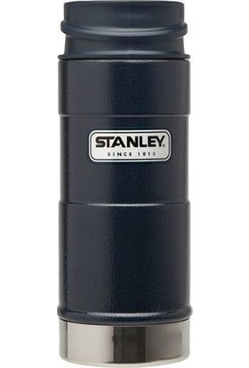 Stanley 0.35L Classic One Hand Mug - Lacivert Klasik Tek El Termos Bardak