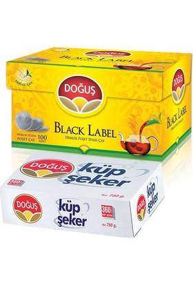 Doğuş Black Label Demlik Poşet Siyah Çay Ve Küp Şeker