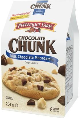 Pepperidge Farm Milk Cholocate Macadamia Coocies 204 Gr