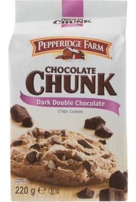 Pepperidge Farm Dark Double Chocolate Coocies 220 Gr