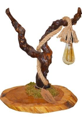 Woodlove Ağaç Abajur - Daba11