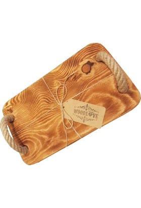 Woodlove Doğal Ağaç Tepsi Dast20