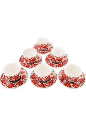 Quartz Ceramics El YapımıSeramik Kahve Seti