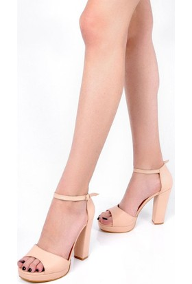 Sapin 26009 Kadın Topuklu Ayakkabı