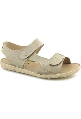 Many S0013 Hakiki Deri Ortopedik Sandalet