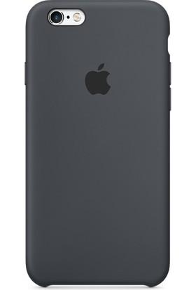 Deer Case Apple iPhone 6-6S Silikon Kılıf Kauçuk Arka Kapak