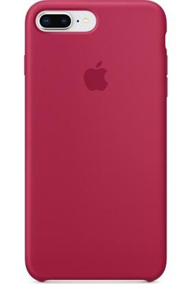 Deer Case Apple iPhone 8 Plus Silikon Kılıf Kauçuk Arka Kapak
