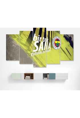 Dekorme Bir Tek Sana Fenerbahçe Kanvas Tablo 110 x 60 cm