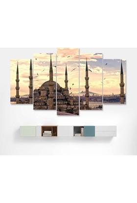 Dekorme Cami Kanvas Tablo 110 x 60 cm