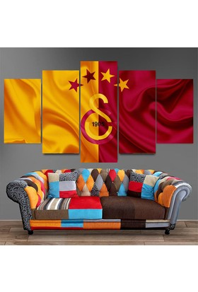 Dekorme Galatasaray Kanvas Tablo 110 x 60 cm